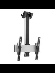 Vogel's Professional SET CT 1564 Silver/Black 150 cm TV Plafondbeugel  - 360° Draaibaar