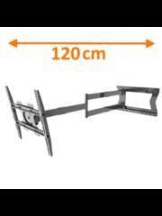 XTRarm Ferrom 120 cm TV Beugel Black