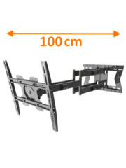 XTRarm Cratos 100 cm Double TV Beugel