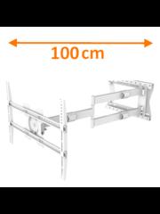 XTRarm Crius 100 cm Rotate 600 TV Beugel White