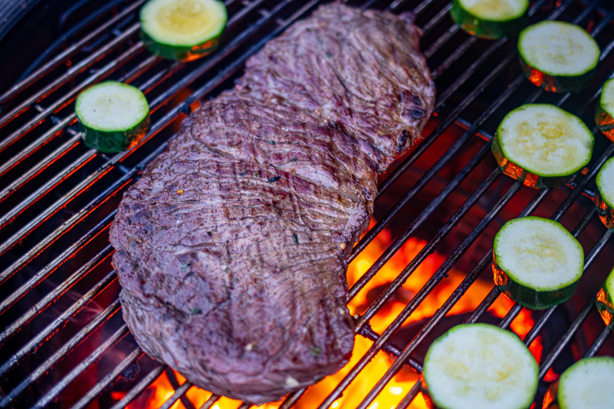 Recept Bavette - Koriander limoen op de BBQ