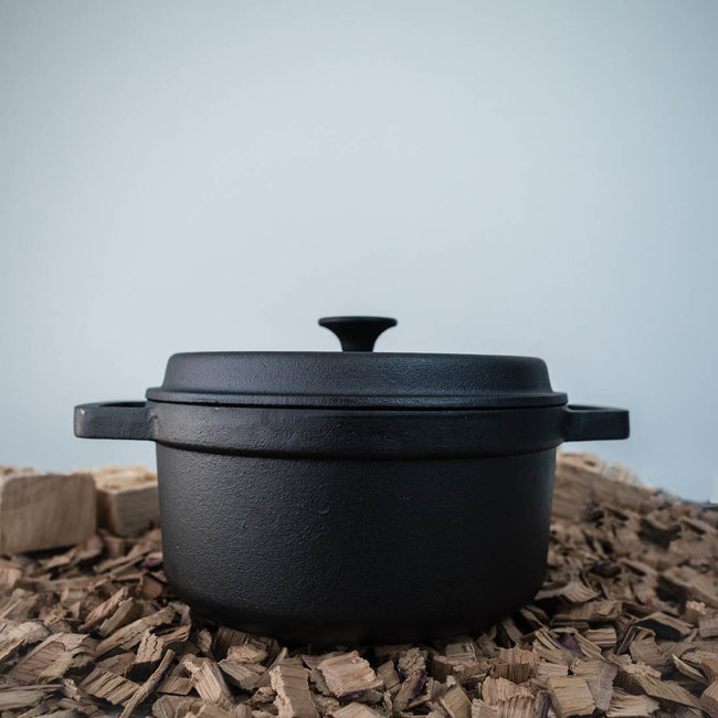 GIETIJZEREN BBQ PAN