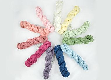 • Andean Mist Cotton Flammé– Pima-Baumwolle, bio