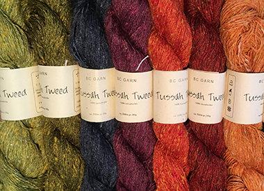 • Tussah Tweed – Soie sauvage non-violente • BC Garn