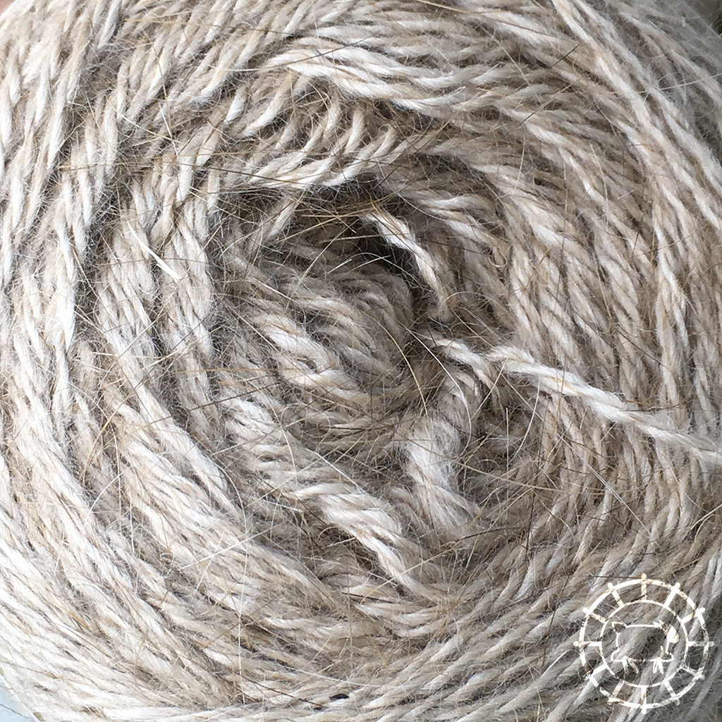 «Woolpack Yarn Collection» Angora Lace – Isabelle, 100% tierlieb