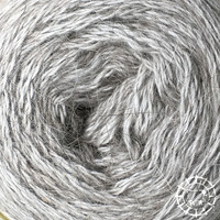 «Woolpack Yarn Collection» Angora Lace – Perlgrau, un gris de luxe, respectueuse des animaux
