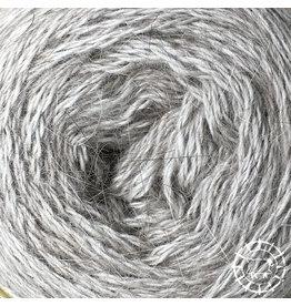 «Woolpack Yarn Collection» Angora Lace –Perlgrau