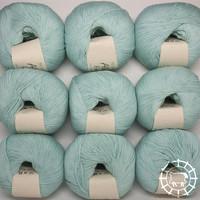 «BC Garn» Alba Fino – Bleu menthe clair
