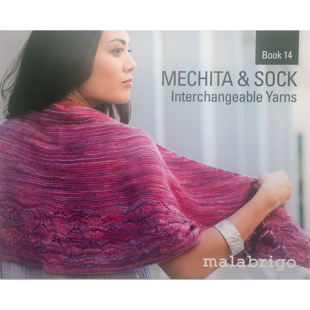 «Malabrigo Yarn» Malabrigo – Book 14 Mechita and Sock, interchangeable yarns