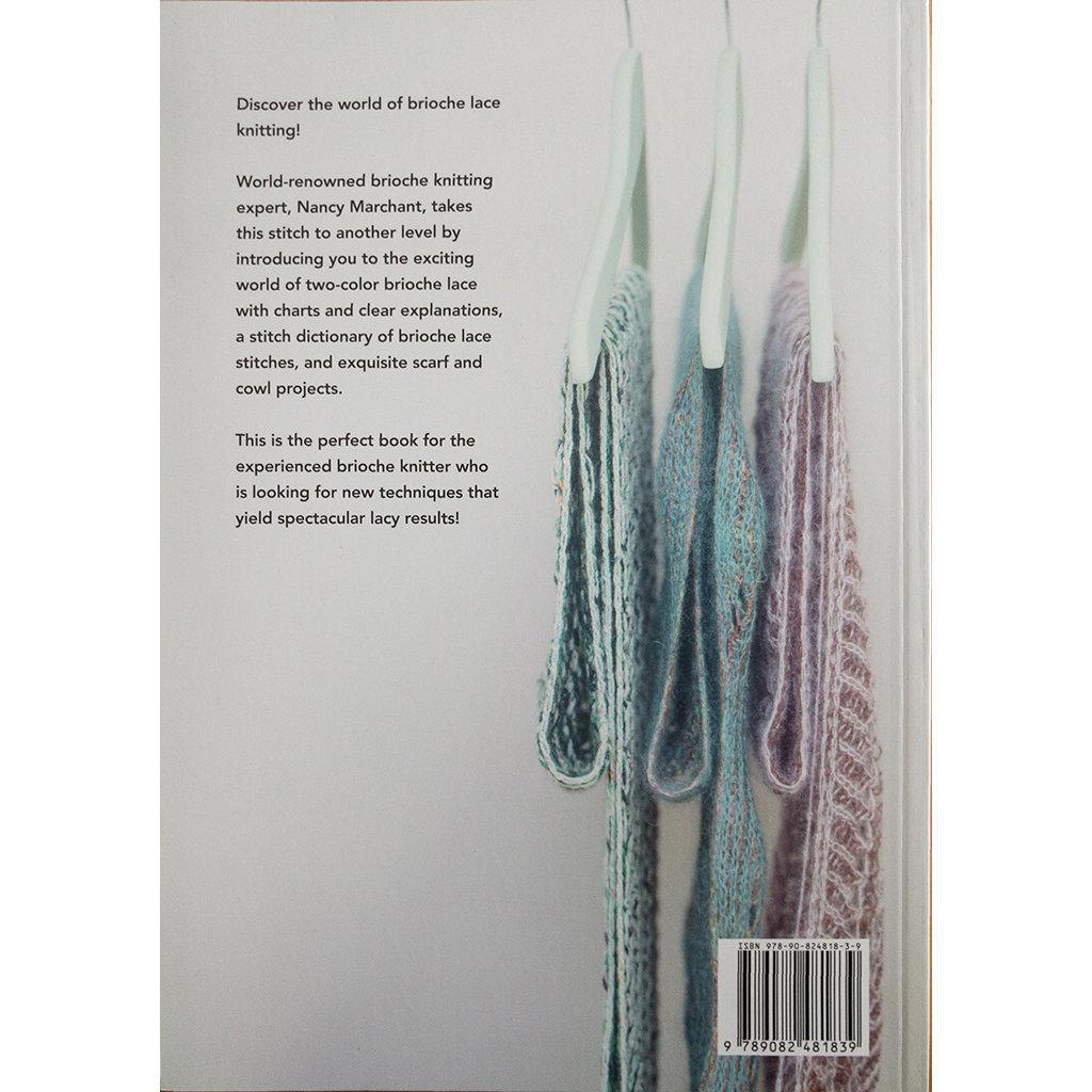 Knitting Brioche Lace, Nancy Marchant, creating eyelets in Brioche Knitting
