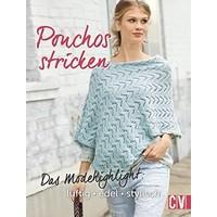 Ponchos Stricken – gerade wieder total in Mode und sehr praktisch