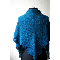 Celtic Cable Shawls