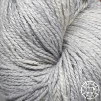 «Woolpack Yarn Collection» Soie bio, Ahimsa – Argent, la soie de papillons vivants