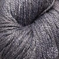 «Woolpack Yarn Collection» Bio-Seide Ahimsa – Schiefer, Seide lebender Schmetterlinge