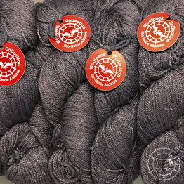 «Woolpack Yarn Collection» Bio-Seide Ahimsa – Schiefer