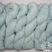 «Woolpack Yarn Collection» Bio-Seide Ahimsa – Gletscher, Seide lebender Schmetterlinge