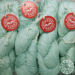 «Woolpack Yarn Collection» Soie bio, Ahimsa – Glacier