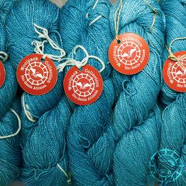 «Woolpack Yarn Collection» Bio-Seide Ahimsa – Azur