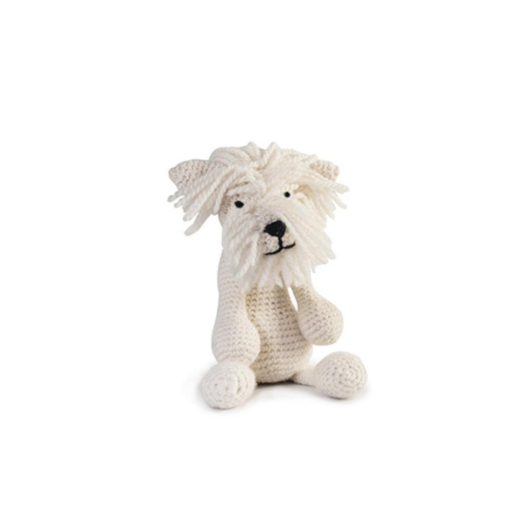 Geoffrey, der weisse West Highland Terrier (Häkelanleitung)