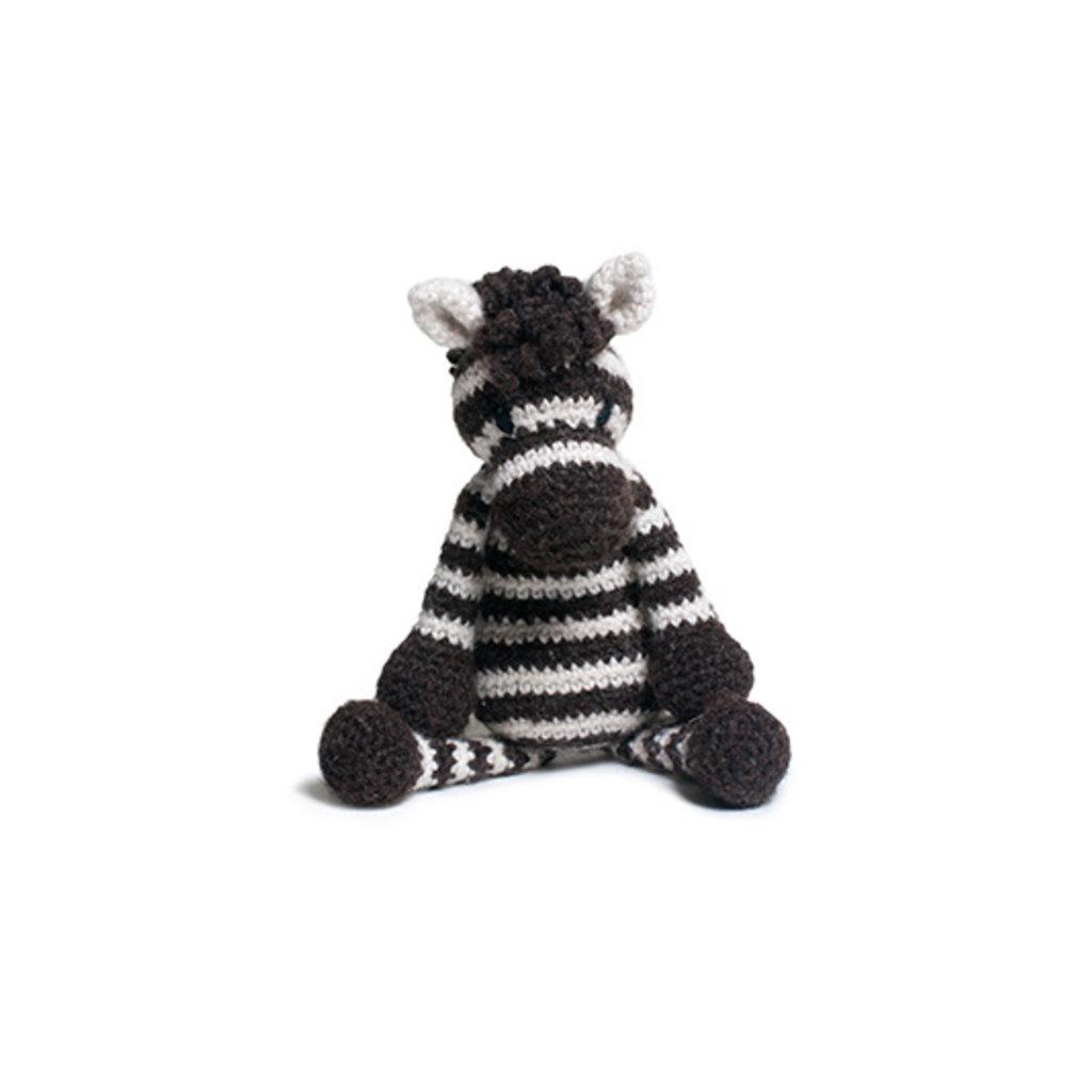 Alice, das Zebra (Häkelanleitung)
