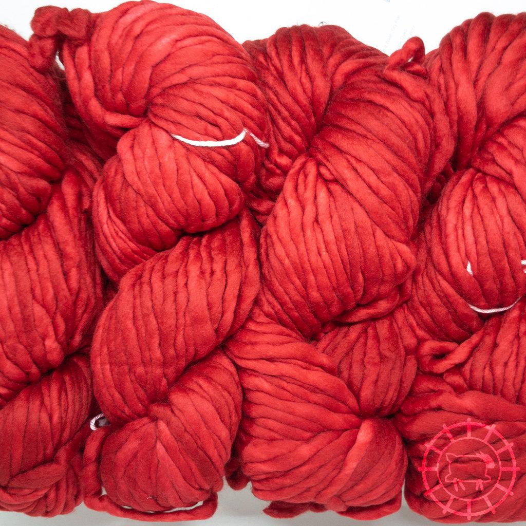 «Malabrigo Yarn» Rasta – Ravelry Red, das Rot der Strickerinnen