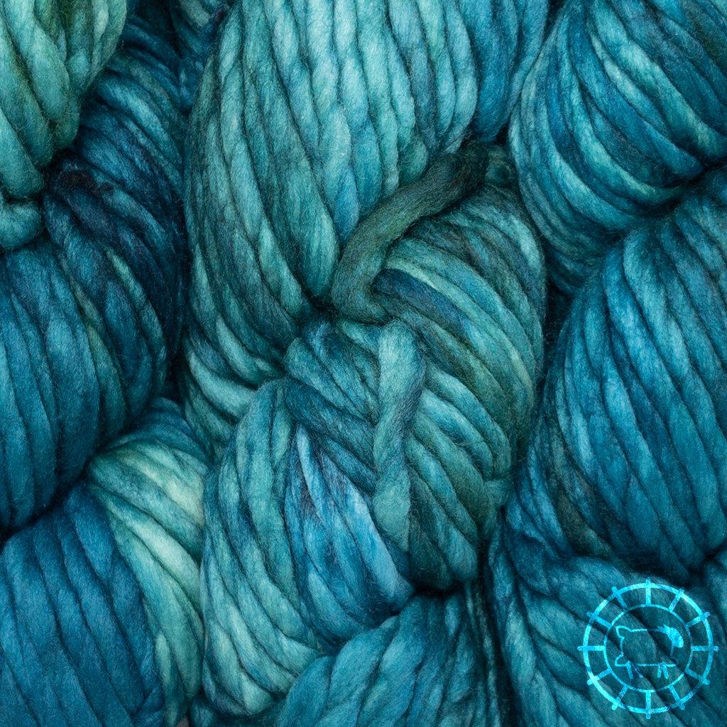 «Malabrigo Yarn» Rasta – Teal Feather, der Stolz der Enten