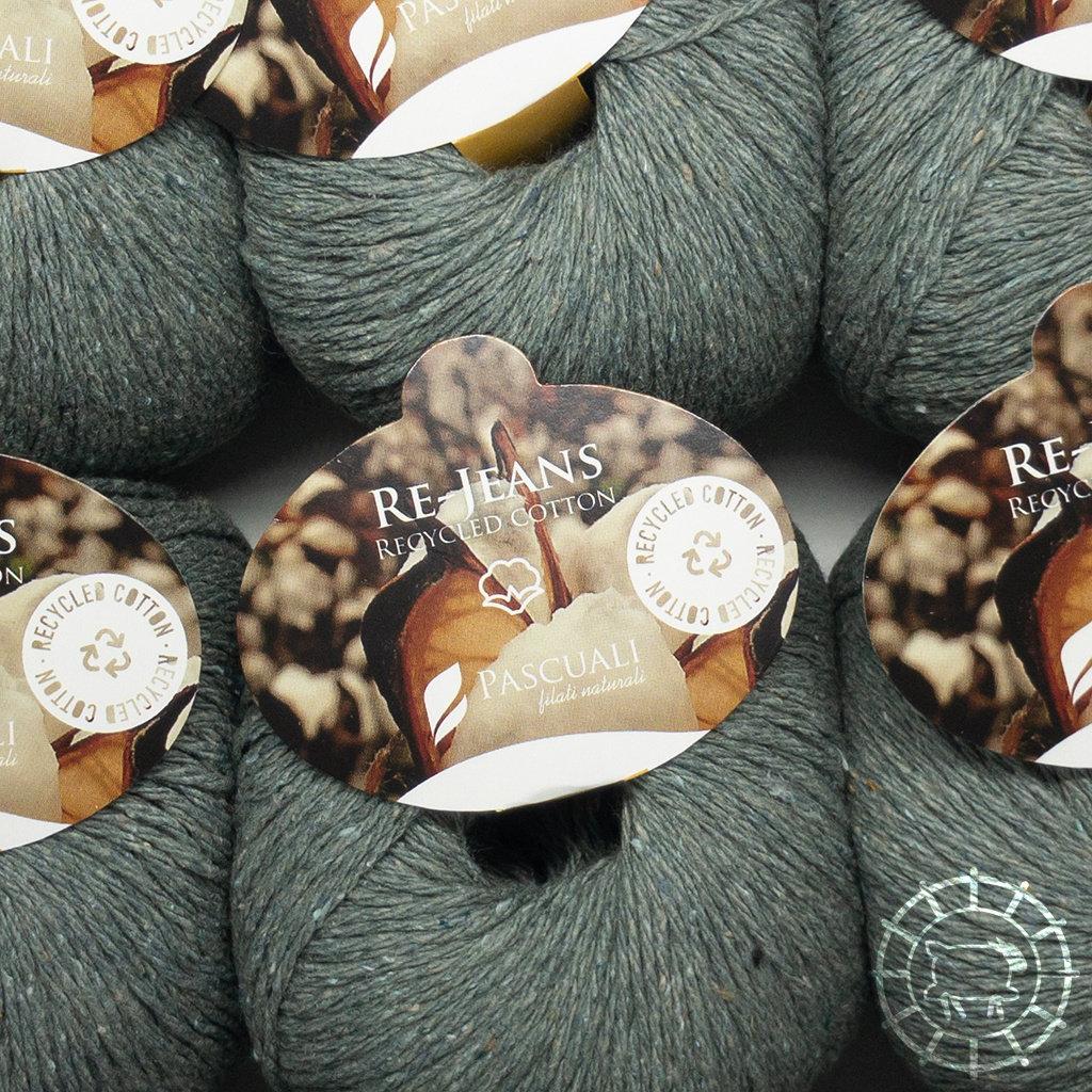 «Pascuali» – filati naturali Re-Jeans – Salbei