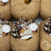 «Pascuali» – filati naturali Re-Jeans – Dunkelgelb
