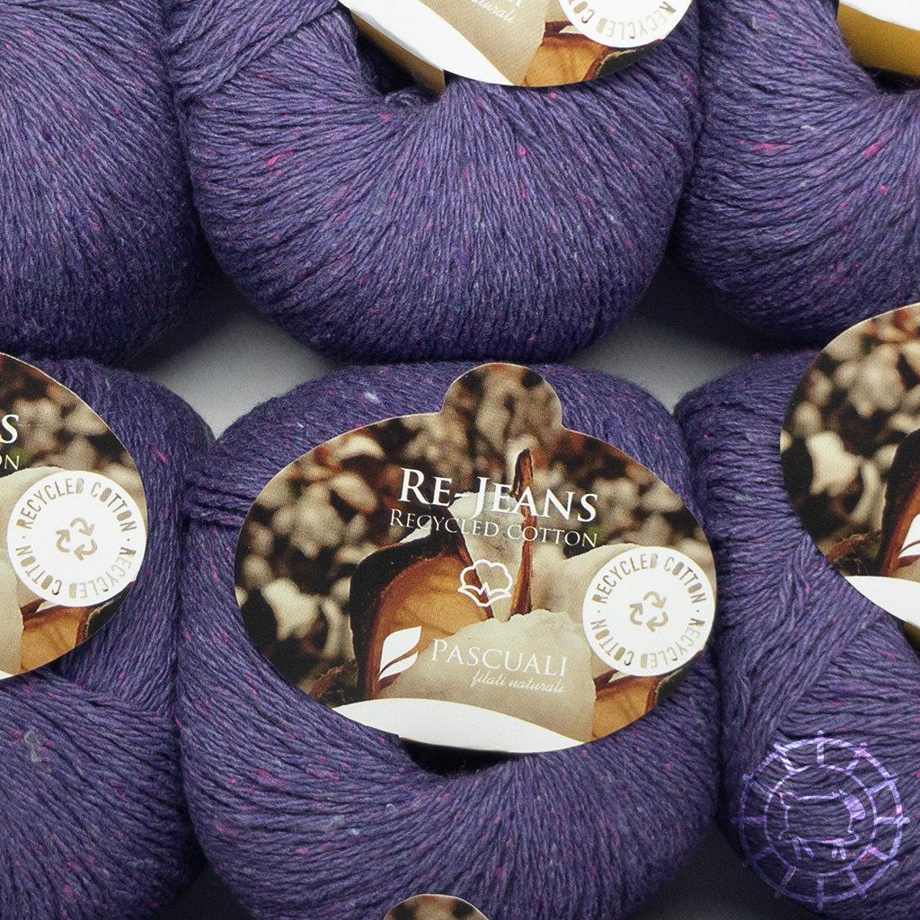«Pascuali» – filati naturali Re-Jeans – Violett