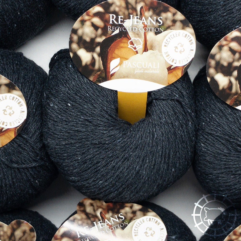 «Pascuali» – filati naturali Re-Jeans – Anthracite