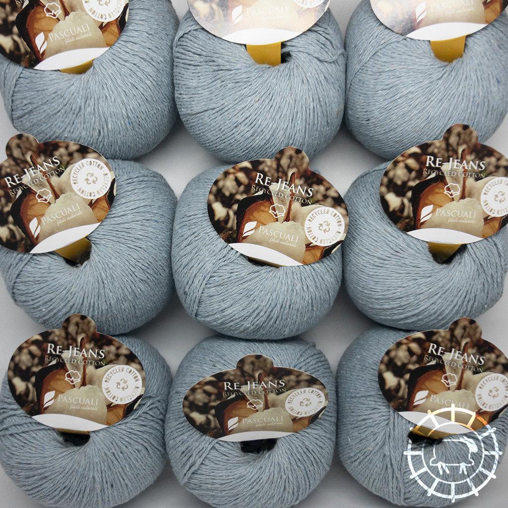 «Pascuali» – filati naturali Re-Jeans – Hellblau