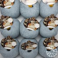 «Pascuali» – filati naturali Re-Jeans – Bleu clair