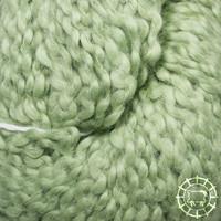 «Kremke Soul Wool» – Seelenwolle «Andean Mist Cotton Flammé» – Verde Spring