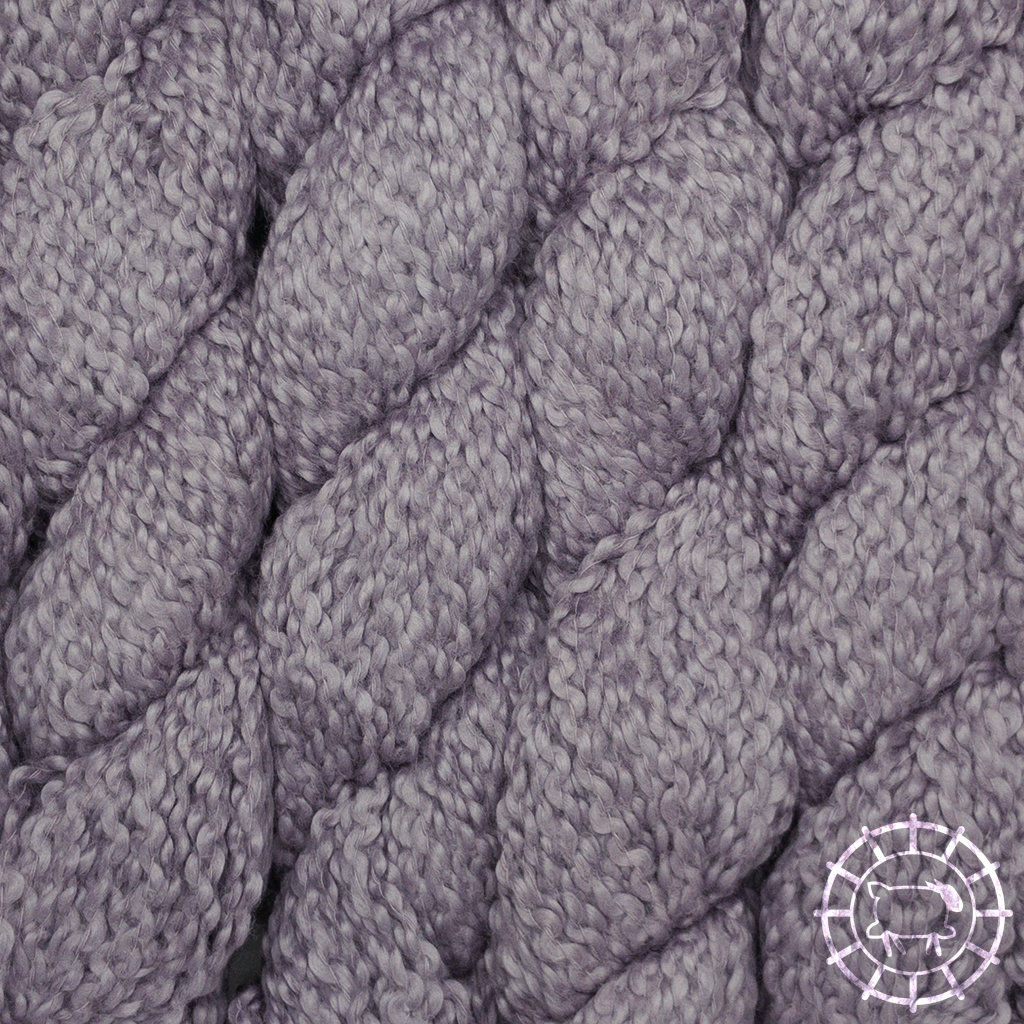 «Kremke Soul Wool» – Seelenwolle «Andean Mist Cotton Flammé» – Lavender Twig
