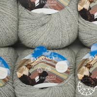 «Pascuali» – filati naturali Balayage – Ishinca, Silbergrau, ungefärbt