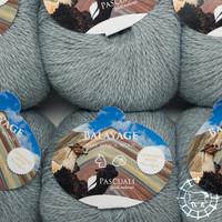 «Pascuali» – filati naturali Balayage – Salkantay, Eisgrau