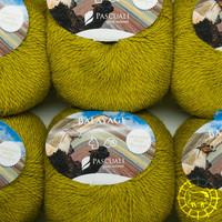 «Pascuali» – filati naturali Balayage – Piura, Grüngold