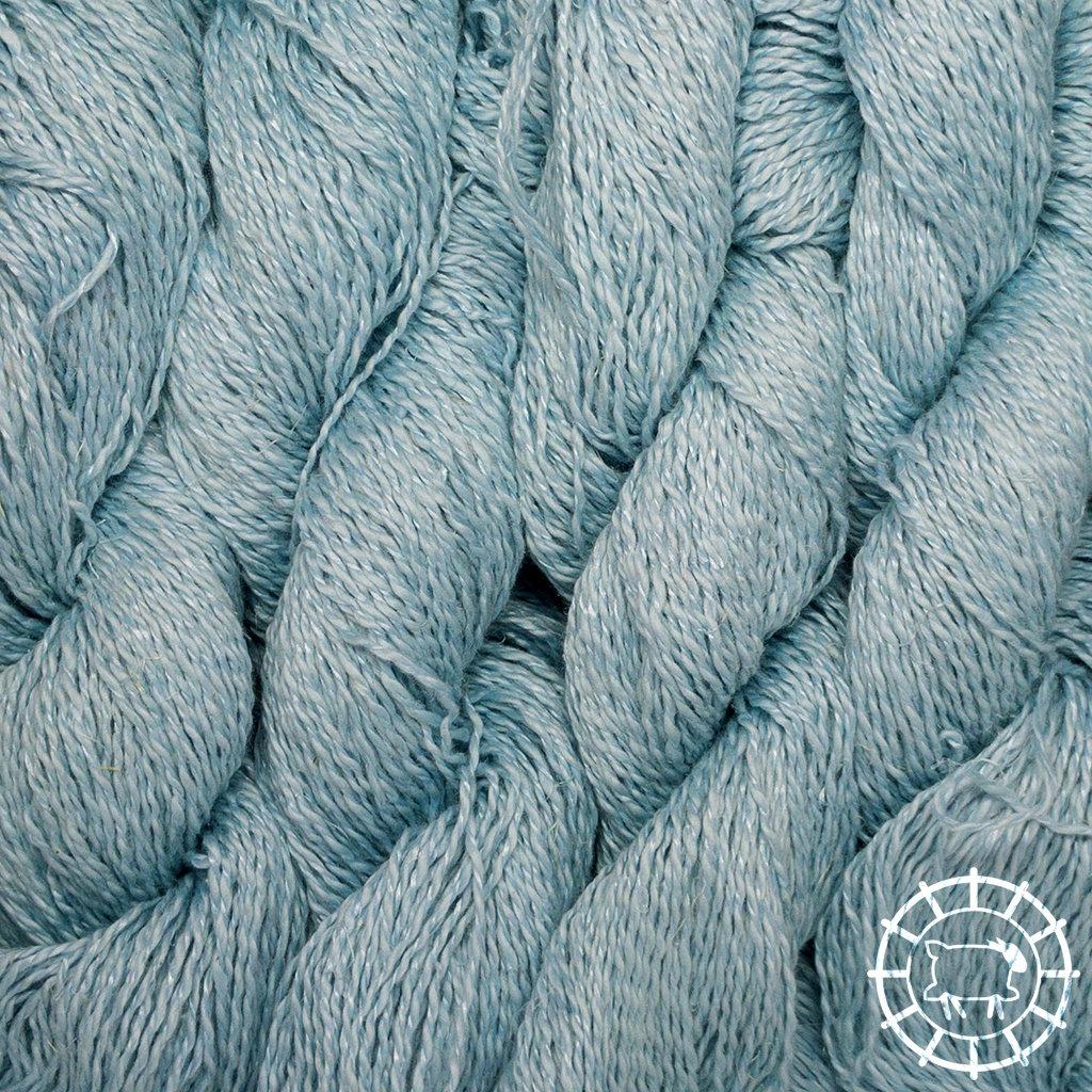 «Pascuali» – filati naturali Nepal – Bleu argenté