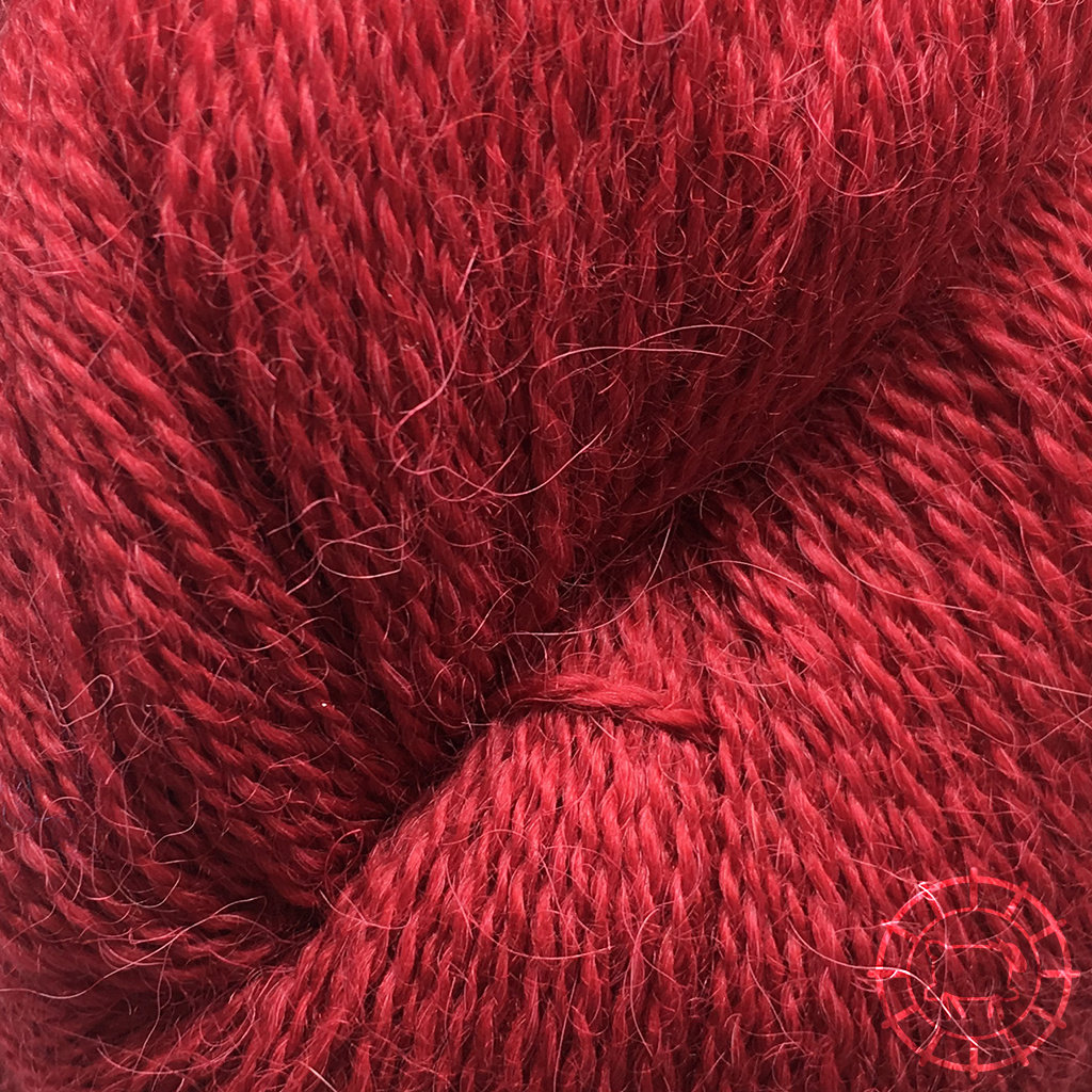 «Pascuali» – filati naturali Alpaca Lace – Erdbeerrot