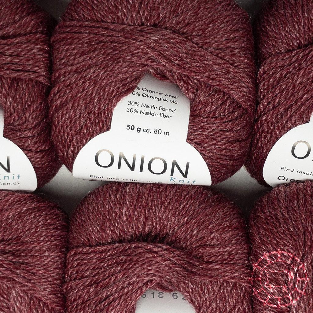 «Onion» Onion No. 6 – Rouge foncé