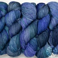 «Malabrigo Yarn» Sock – Azules, versunken im Blau