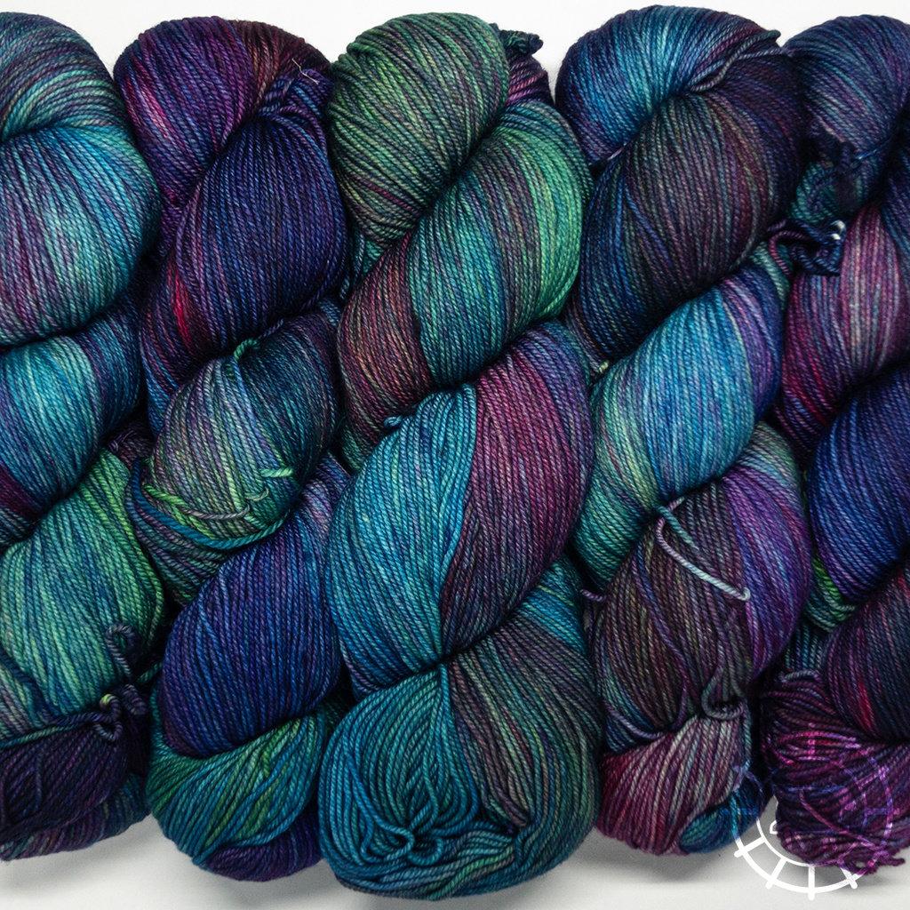 «Malabrigo Yarn» Sock – Fortaleza, Kraftfarben