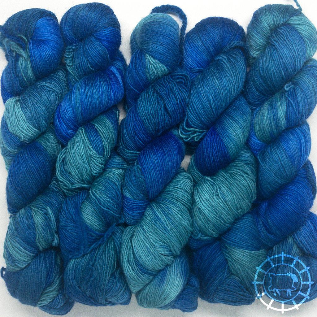«Malabrigo Yarn» Lace – Emerald Blue