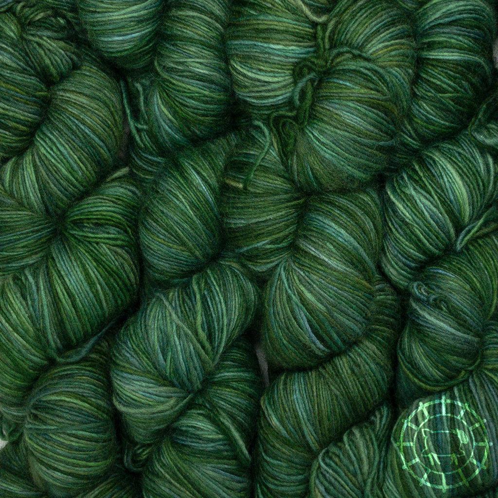 «Malabrigo Yarn» Lace – Verdes, der Blick in die Bäume