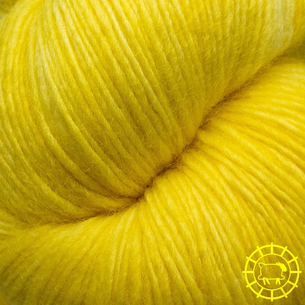 «Malabrigo Yarn» Lace – Sauterne, Kanarienvogelgelb