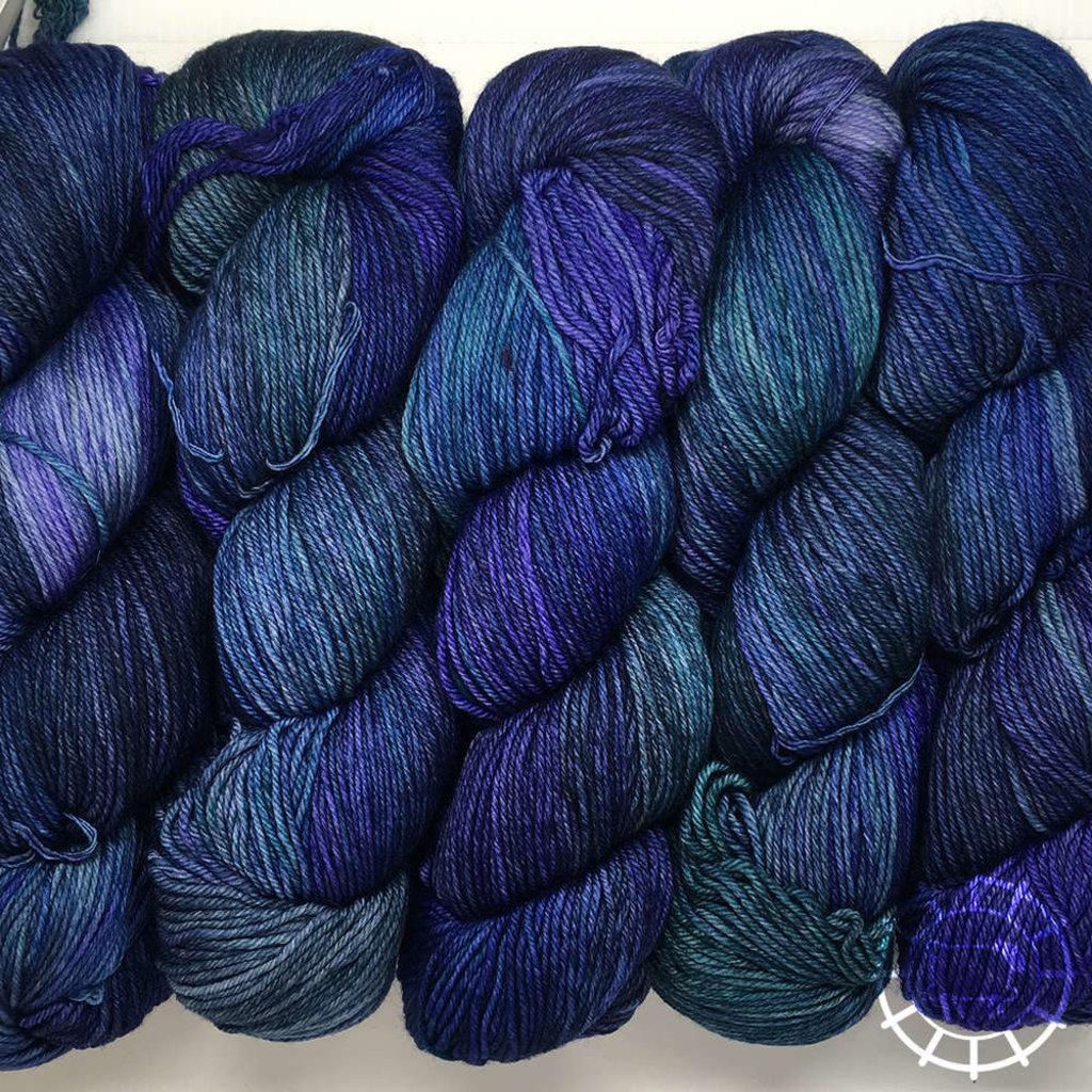 «Malabrigo Yarn» Arroyo – Azules, blaues Spiel