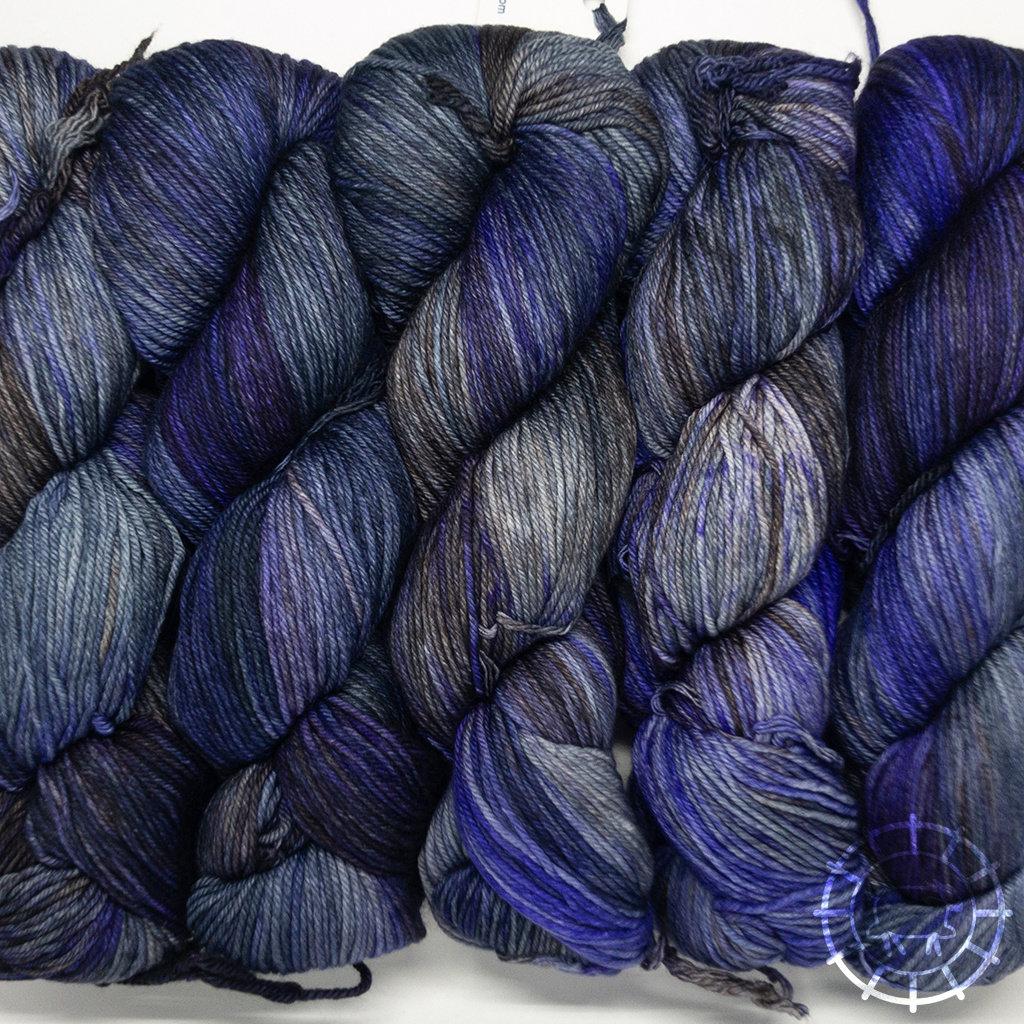 «Malabrigo Yarn» Arroyo – Lavanda, duftende Lavendelfelder