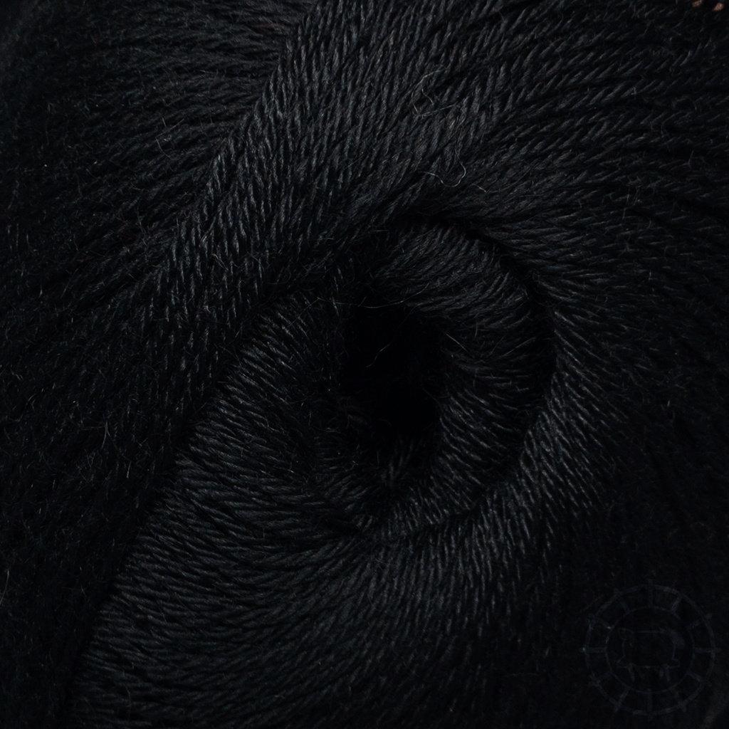 «Woolpack Yarn Collection» Baby Alpaca Socks – Noir