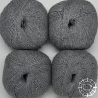 «Woolpack Yarn Collection» Baby Alpaka Socks – Hellgrau