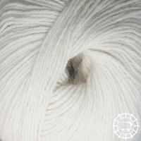 «Woolpack Yarn Collection» Baby Alpaka Socks – Naturweiss, ungefärbt